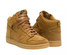 Nike Dunk High Premium 'Wheat' (GS) Youth 886070-200 UK 4 EU 36.5 US 4.5Y New