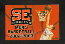 Southeast Missouri State Indians--1997-98 Basketball Schedule--Union Planters