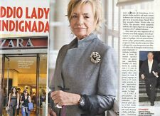 SP80 Clipping-Ritaglio 2013 Addio Lady Rosalia Zara indignada chic