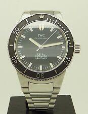 Rare Vintage S.Steel IWC Aquatimer GST 2000 M Automatic Diver's Watch 3536