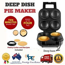 NEW Pie Maker Deep Dish Stainless Steel Cooking Appliances