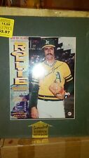 ROLLIE FINGERS AUTOGRAPH SIGNED 8X10 PHOTO COA BROOKS ROBINSON HOF DAY