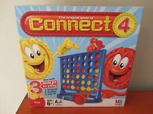 The Original Game of Connect 4 2009 3 Ways To Play Game Milton Bradley Complete
