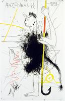 DDR-Kunst/Nachwendezeit. Radierung von Akos NOVAKY (*1951 HUN/D), handsigniert