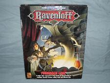 AD&D 2nd Ed Ravenloft Box Set -  FORBIDDEN LORE  (Complete - RARE and UNUSED!!)