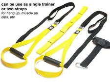 MxG® trainer. Body Trainer. Suspension Straps. Gym Fitness pull up dips planche