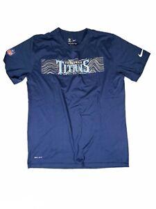 Nike NFL Tennessee Titans Dri-Fit 【Large】Shirt On Field Apparel 【922254-419】