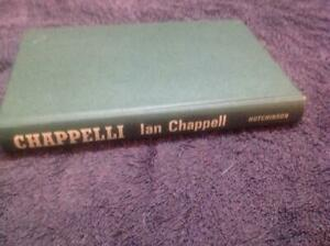 Chappelli- Ian Chappell By Hutchinson of Australia Hard Cover Book