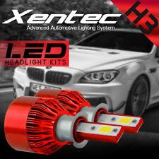 H3 5W High Power LED 6000K White for Car Fog DRL Light Headlight Bulb 12V DC USA