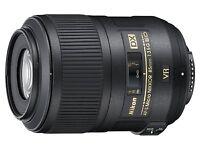 NIKON AF-S DX Micro NIKKOR 85mm f/3.5G ED VR Lens from JAPAN NEW