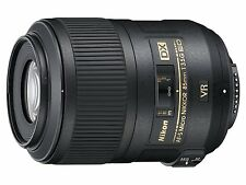 NIKON AF-S DX Micro NIKKOR 85mm f/3.5G ED VR Lens from JAPAN NEW