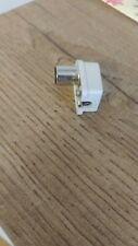 Spina Coax a Pipa diametro 13 mm per cavo coassiale. Spina per cavo TV.