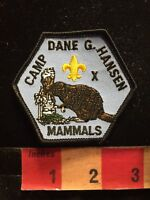 MAMMALS BEAVER CAMP DANE G HANSEN Boy Scouts Patch Coronado Area Council KS 85N4