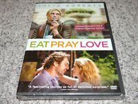 Eat Pray Love (DVD, 2010, Theatrical Version/Extended Cut) BRAND NEW & SEALED