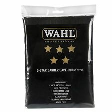 Wahl Professional 5 Star Barber Cape #97791 (Great for Professional Stylists)