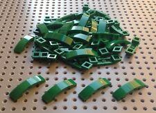 Lego Green 1x4x2/3 Curved Slope Brick (93273) x10 *BRAND NEW* City Star Wars