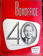 BOXOFFICE MAGAZINE National Film Weekly - Marilyn Monroe, Psycho, Gantry 1960