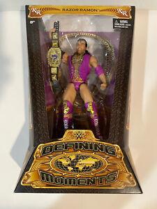 Razor Ramon WWE Defining Moments Elite Wrestling Figure 2014 Mattel New