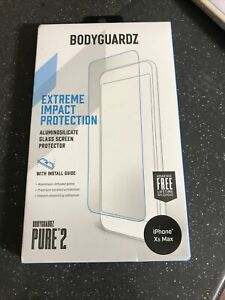 Sealed BODYGUARDZ PURE 2 GLASS SCREEN  FOR APPLE IPHONE 11 PRO MAX IPHONE XS MAX