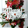 Christmas Tree Hanging Festival Party ation Xmas Bell Wreath Ornament  ¥%#