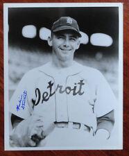 Marlin Stuart Signed 8X10 Photo Detroit Tigers Autograph JSA Pre-Certified Auto