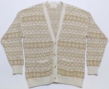 Lord Jeff Sandstone Collection Cardigan Sweater Mens Size XL