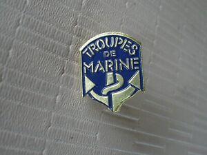 2 PINS TROUPES DE MARINE TDM NEUF