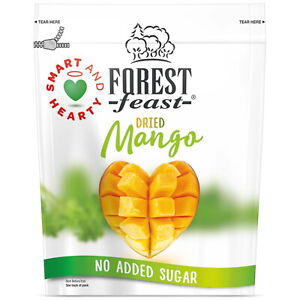 Forest Feast Dried Mango 650g Resealable Bag No Added Sugar Ready to Eat