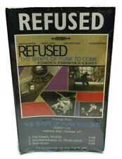 Refused Shape of Punk to Come 1998 3-Track Promo Cassette in O-Card SEALED RARE!