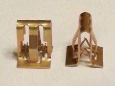 (x6pcs) Garnish Clip Fastener ~ Panel, Finish, Trim, Steel, Zinc