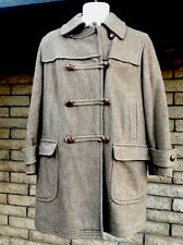 Vintage Gotz Bavarian Loden Austria Germany Wool Hooded Warm Style Women's Coat