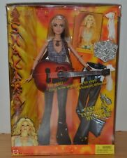Barbie Doll Collector 2003 Singer Shakira Guitar and Extra Outfits