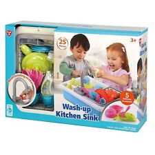 PLAYGO WASH-UP KITCHEN SINK REALISTIC PLAY SET COLOR: MULTI-COLOR NWB
