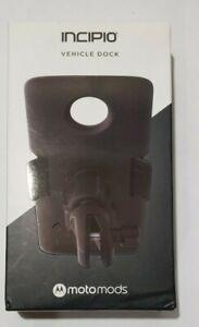 Incipio Motomods Moto Mods Vehicle Dock Mount fits Moto Z Phones - Black
