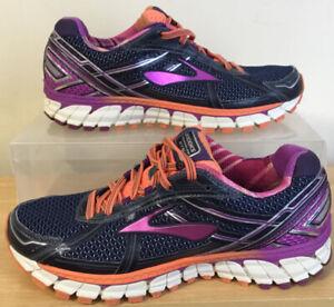 Ladies BROOKS Adrenaline GTS Running Shoes Trainers Size UK 8 EU 42
