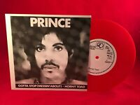 PRINCE Gotta Stop (Messin' About) 1980s RED VINYL single EXCELLENT CONDITION