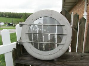 NEW OLD STOCK VINTAGE SHIP PORTHOLE WINDOW WITH GLASS