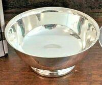 Gorham silverplate bowl Paul Revere 6.5 Christmas serving nut fruit snack YC779