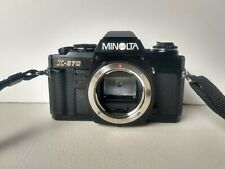 Minolta X-570 SLR Film Camera Body X570