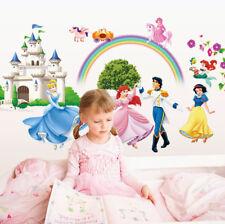 Wandtattoo Prinzessin XXL Kinderzimmer Disney Wandsticker Mädchen groß deko 3