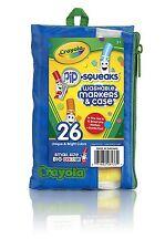 Crayola Pip-gli scricchiolii Lavabile Marker & Custodia + Pad Portafoglio, 26-Pack