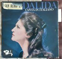 DALIDA CANTA IN ITALIANO RARE 45T EP BIEM BARCLAY 70.757 SAN REMO 1965