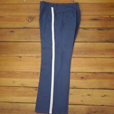 Handmade Civil War Reenactment Union Soldier Blue Silver Stripe Pants 31 x 28