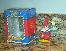 1998 Trevco Rudolph The Red-Nosed Reindeer Christmas Tree Ornament Elf Jester