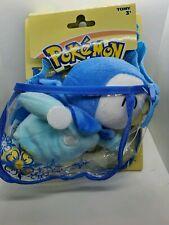 NEW Nintendo Pokemon Piplup Plush Travel Purse Bag Toy Stuffed Animal Penguin