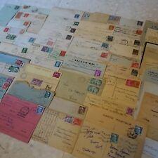 LOT DE 60 LETTRES COVER ENTRE 1901/1955 AVEC DAGUIN, LR, GRANDS FORMATS