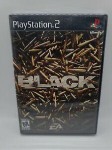 Black EA Game 1st Print (PlayStation 2, PS2 2006) FACTORY SEALED! - RARE!