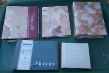 ~~ Lot Of 5 Mini Photo Albums ~ C. R. Gibson & Co. & more ~~ Check Them Out >>>>