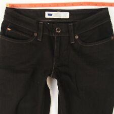 Ladies Womens Levis BOLD CURVE SKINNY Stretch Black Jeans W28 L32 UK Size 8