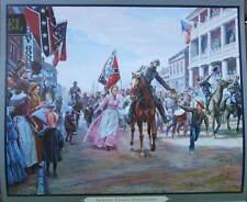 """""""Jackson Enters Winchester"""" Mort Kunstler Civil War"""